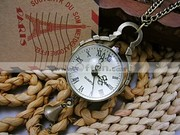 Free Shipping Retro Vitage Pocket Watch Best Watch with Bell