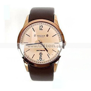 Free Shipping:Elegant Men Leather Sports Round Quartz Wrist Watches