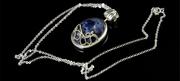 The Vampire Diaries Katherine's Antisunlight Lapis Pendant Necklace