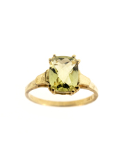 10 K Gold Smoky Topaz Ring Size 6,  7,  8,  9 Available