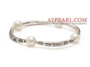 Classic A Grade Natural Tube Charm Bracelet