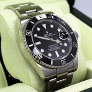 ROLEX SUBMARINER DATE 116610 STEEL CERAMIC BEZEL 100% guaranteed auth