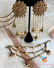 Sahara Earrings Indian With Amazel Designs